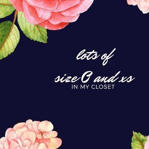 Dresses & Skirts - LOTS of Size 0 and XS in my closet....